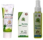 Surety For Safety Insect Repellents Surety For Safety MosQshield Depa + Herbal After Bite Spray + Herbal Anti Mosquito Spray