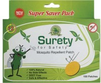 Surety For Safety Mosquito Repellent 100 Patch (Pack Of 1)