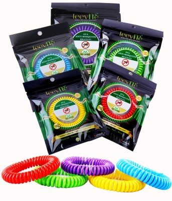 LEEVME Insect Repellents LEEVME EVA ANTI MOSQUITO BRACELETS