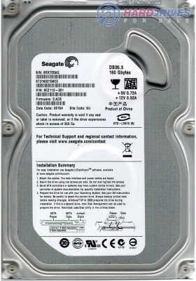 Seagate DB35.3 ST3160215SCE 160GB Desktop Internal Hard Disk