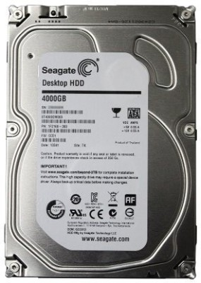 Seagate Desktop HDD (ST4000DM000) 4TB Internal Hard Drive