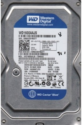 WD Caviar Blue (WD1600AAJS) 160GB Desktop Internal Hard Disk