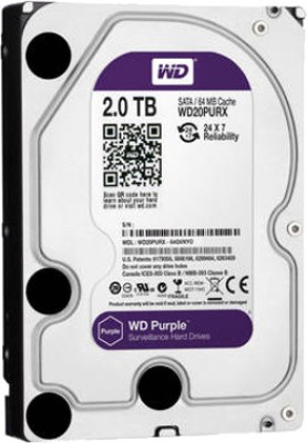 WD (WD20PURX) 2TB Internal Hard Disk