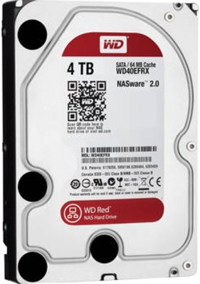 WD WD40EFRX 4 TB NAS Internal Hard Disk