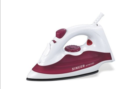 Singer Singer Emerald 1250 watts Steam Iron Steam Iron (white, maroon)