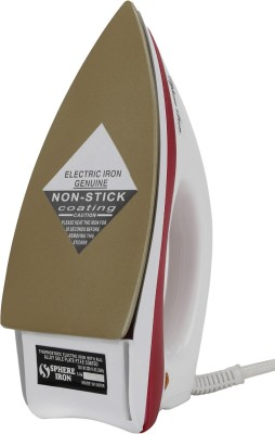 Sphere Iron Dual Toned Dry Iron (White, Red)