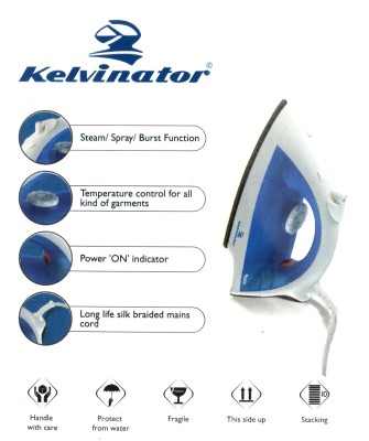 Kelvinator NEUVO-KSI 3B6TB Steam Iron (Blue)