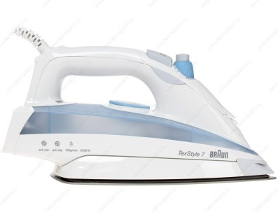 Braun TS 725 Steam Iron (blue, white)