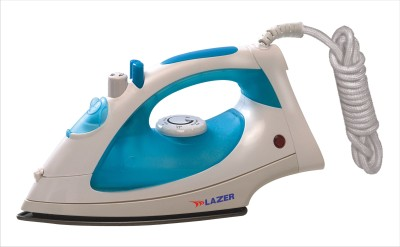 Lazer Steam Jumbo Dx Steam Iron (White, Blue)