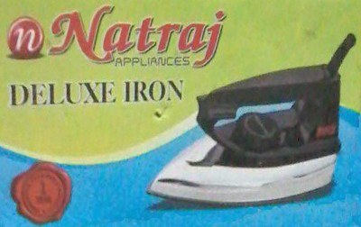 Natraj Dollar Dry Iron (Blue, Orange)