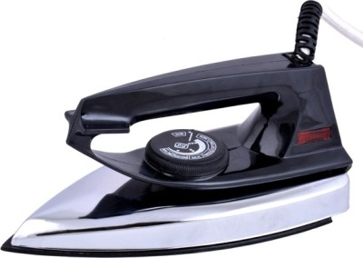 United Black Handle ISI Mark Dry Iron (Black)