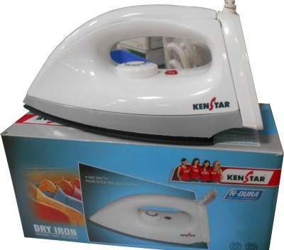 Kenstar N-Dura Dry Iron (Grey and White)