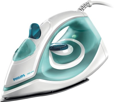 Philips GC1903 Steam Iron (White and green)