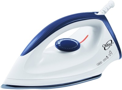 Orpat OEI 187 1200 W Dry Iron (White & Blue)