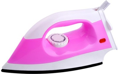 United Wave Isi Mark Dry Iron (White, Pink)