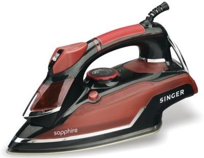 Singer Sapphire Steam Iron (Red, Black)