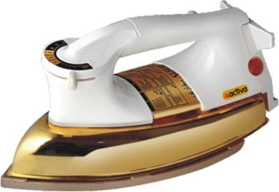 ACTIVA PLANCHA LIGHT WEIGHT GOLD Dry Iron (WHITE)