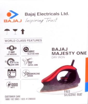 Bajaj Majesty One Dry Iron