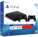 Sony PlayStation 4 (PS4) Slim 500 GB with Extra Dual Shock 4 Controller: Gaming Console