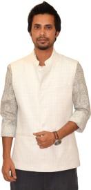 Astitva NM Sleeveless Checkered Men's Nehru Jacket
