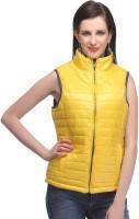 Madame Sleeveless Solid Women's Jacket - JCKE2MACFZHVGYJP