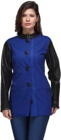Natty India Full Sleeve Solid Women's Jacket