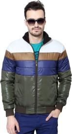 People Full Sleeve Geometric Print Men's Jacket