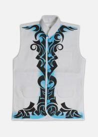 Rangrage Sleeveless Printed Boy's Padded Jackets Jacket