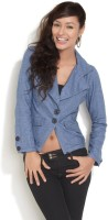 Mojo Full Sleeve Women's Cropped Jacket