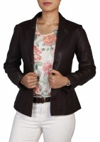 Theo&Ash Full Sleeve Solid Women's Blazer Jacket