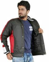 Truccer Basiscs Full Sleeve Solid Men's Slim Fit Bomber Biker Jacket - JCKE2KYXY7VHNRSJ