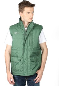 Again Sleeveless Solid Men's Light Quilted Jacket