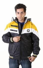 Burdy Full Sleeve Striped Men's Jacket