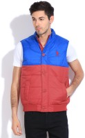 U.S.Polo.Assn Sleeveless Solid Men's Jacket