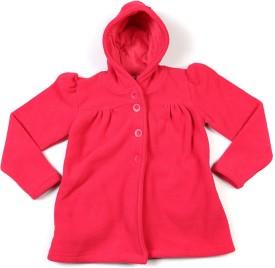 People Full Sleeve Solid Girl's Jacket