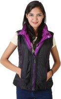 Asst Sleeveless Solid Reversible Women's Reversible Jacket