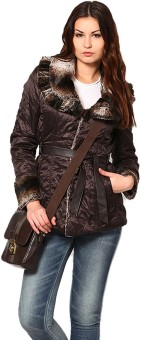 Sportelle USA India Heavy Weight Lapel Collar Full Sleeve Solid Women's Quilted Reversible Jacket