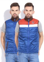 Pepe Sleeveless Solid Reversible Men's Reversible Jacket - JCKDZ5ZDBMGX5TF4