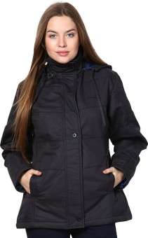 Orewa Fashionable Full Sleeve Self Design Women's Self Design Jacket Reversible Jacket