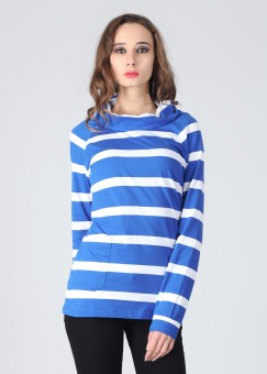 Style Quotient By Noi Full Sleeve Striped Women's Jacket