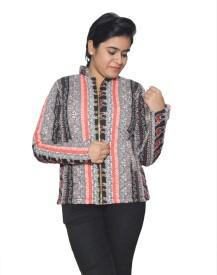 Folks Fashion Full Sleeve Printed Women's Jacket