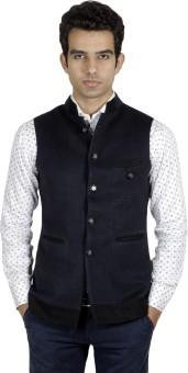 Ennoble Sleeveless Solid Men's Jacket - JCKEDUVYSFCHTFJT