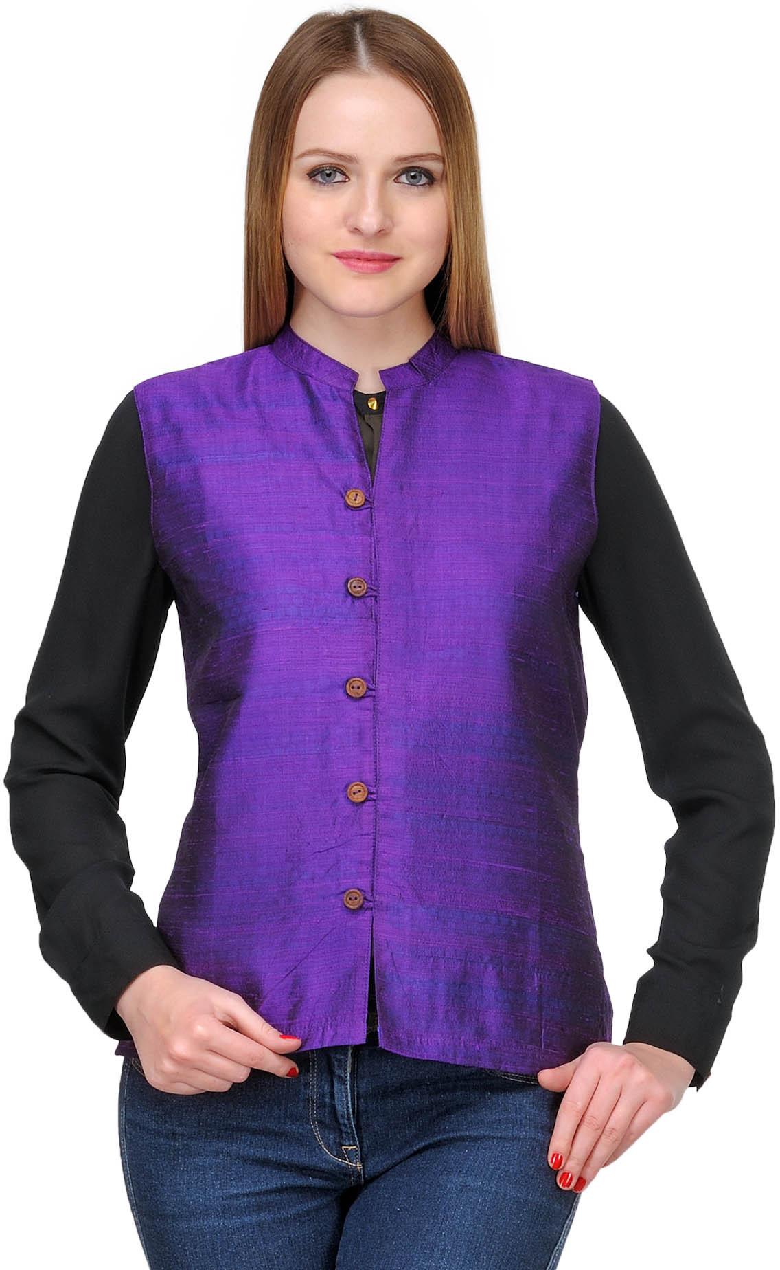 Nehru jacket women