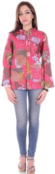 Om Prints Full Sleeve Printed Women's Jacket - JCKEEHP7G4EDZ74H