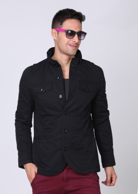 United Colors of Benetton Full Sleeve Solid Men Jacket