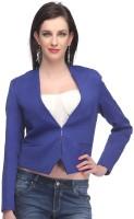 Madame Full Sleeve Geometric Print Women's Jacket