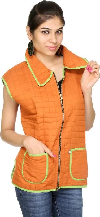 Rajrang Sleeveless Checkered Reversible Women's Quilted Reversible Jacket - JCKE25RTXQ3WHHD7