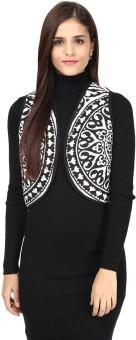 Akkriti By Pantaloons Sleeveless Printed Women's Jacket