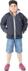 Burdy Full Sleeve Solid Boy's Jacket
