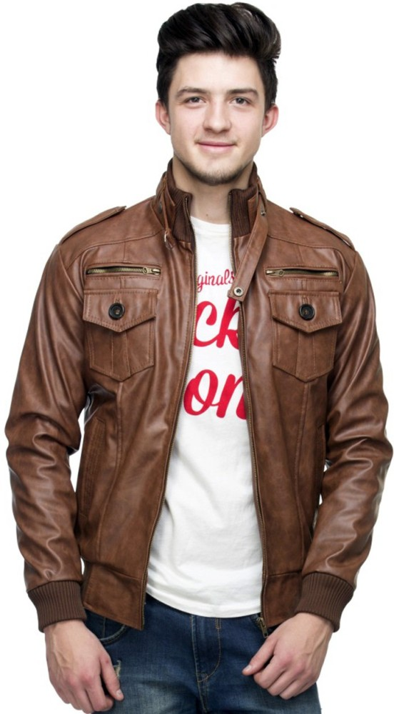 AutokartIndia Full Sleeve Solid Men's Jacket